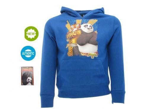 FELPA-BLU-Felpa-Kung-Fu-Panda-TIGRE-E-PANDA-ORIGINALE-CON-CARTELLINO-DA-NEGOZIO-291856866440