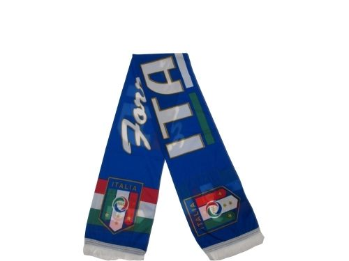 SCIARPA-UFFICIALE-ITALIA-FIGC-POLYESTER-DONNA-UOMO-BAMBINO-JSTDQO3-CALCIO-STADIO-292053155340