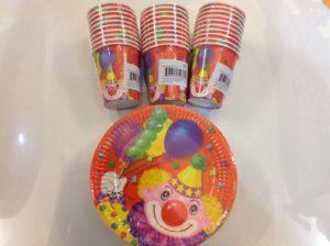 Stock-30-bicchieri-da-feste-e-30-piattini-da-feste-party-feste-bambini-party-300976411290