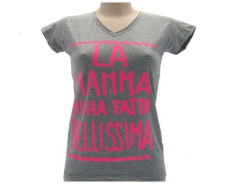 T-Shirt-DONNA-SOLO-PAROLE-LA-MAMMA-MI-HA-FATTO-BELLISSIMA-MODA-2016-291705431350