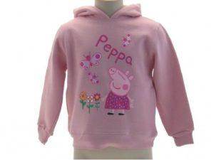 Abbigliamento-Peppa-Pig-Inverno-2014-Felpa-con-cappuccio-rosa-PeppaPig-outlet-300956229441