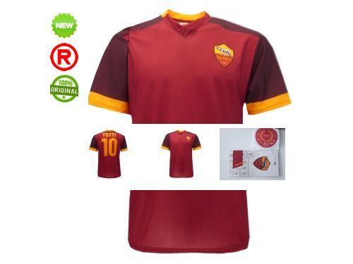 MAGLIETTA-Roma-UFFICIALE-TOTTI-AS-ROMA-MAGLIETTA-UFFICIALE-AS-ROMA-TOTTI-301253264901