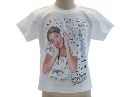 Abbigliamento-Violetta-maglia-maglietta-T-Shirt-Violetta-bambine-Disney-Violetta-291054673622