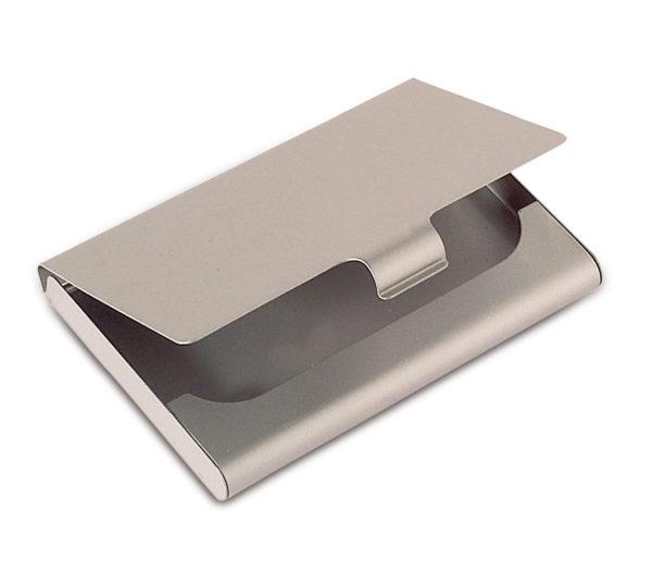 PORTA-BIGLIETTI-in-metallo-porta-carte-tessere-ottimo-gadget-Rivendita-301171045392
