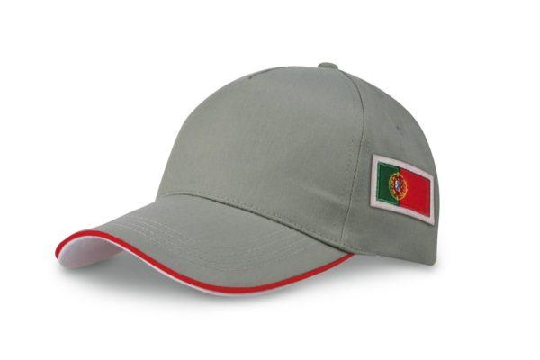 Stock-10-cappelli-cappellino-bandiera-portoghese-calcio-gite-souvenir-viaggi-301082410702