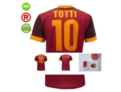 TOTTI-MAGLIETTA-ROMA-UFFICIALE-REPLICA-MAGLIETTA-CALCIO-SERIE-A-REPLICA-UFFICIAL-291198767122