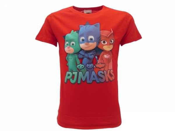 Maglia-Pjmasks-T-Shirt-Pjmasks-rossa-t-shirt-maglietta-bimbi-cartoons-Pjmasks-302271834153