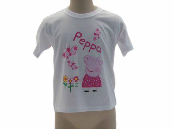 Peppapig-abbigliamento-bambini-TShirt-manica-corta-maglia-di-peppapig-2014-301065260613