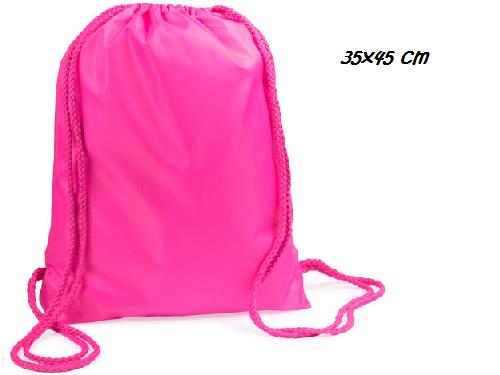Stock-50-sacche-zaini-in-poliestere-210T-35x45cm-vari-colori-negozi-rivendita-292070525933