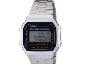 Casio-A168WA-1YES-Orologio-Orologio-da-polso-Unisex-Vintage-orologio-in-scatola-291359483444