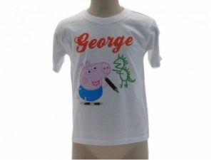 MAGLIETTA-T-SHIRT-PEPPA-George-maglia-George-dinosauro-PeppaPig-TShirt-george-301121897314