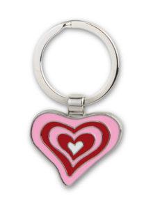 STOCK-20-Portachiavi-a-cuore-in-metallo-smaltato-love-amoregadgetidea-regalo-300625708944