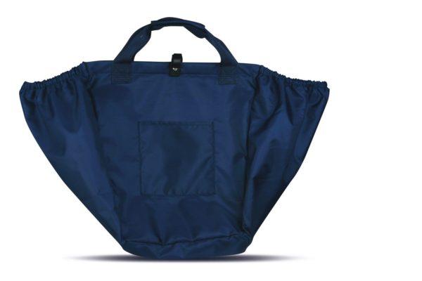 Borsa-sacca-con-ganci-per-carrello-spesa-comoda-resistente-borsa-Big-Bag-viaggi-301082440155