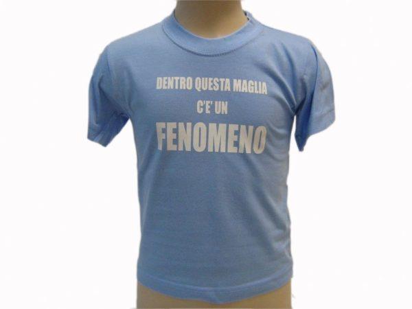 T-SHIRT-DENTRO-QUESTA-MAGLIE-C-UN-FENOMENO-BAMBINO-COLOR-BABY-SCRITTE-ROSSO-292053169765