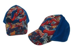CAPPELLO-SPIDERMAN-BAMBINO-MARVEL-BLUE-ROYAL-CAPPELLINO-BERRETTO-CAP-ORIGINALE-302249259896