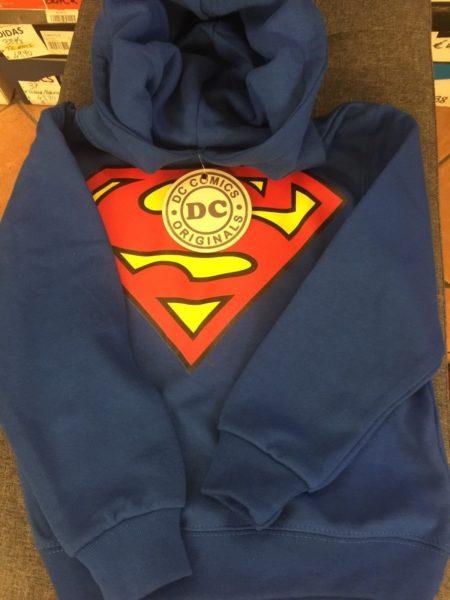FELPA-SUPERMAN-TAGLIA-5-6-ANNI-ORIGINALE-DC-COMICS-NUOVA-DA-NEGOZIO-SUPERMAN-TOP-292015482876