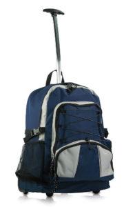 STOCK-10-Zaini-trekking-BLU-NAVYcon-trolley-viaggio-palestra-aziende-ufficio-300667744356