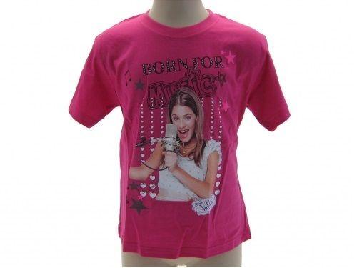 Abbigliamento-violetta-maglia-manica-corta-violetta-maglietta-TShirt-Disney-301065258277