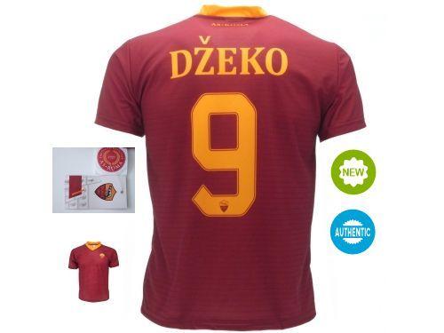 Maglia-Dzeko-9-Edin-Roma-Jersey-Ufficiale-2017-DZEKO-AS-Roma-Giallorossa-291560891747