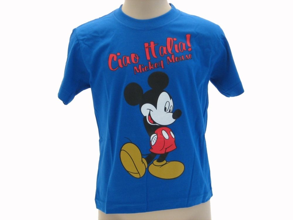 Mickey Topolino Shirt Mouse And Maglietta Friends Bambino Disney T kiuOPXTZ