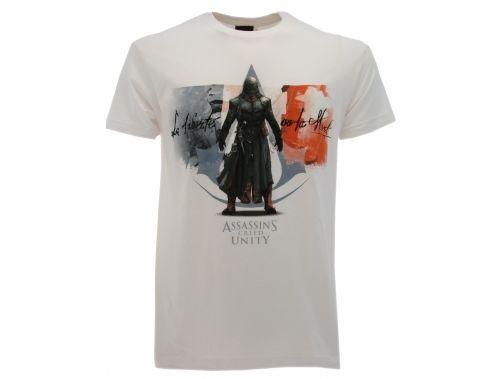 T-Shirt-Assassins-Creed-bianca-ORIGINALE-CON-CARTELLINO-T-Shirt-Assassins-301912676508