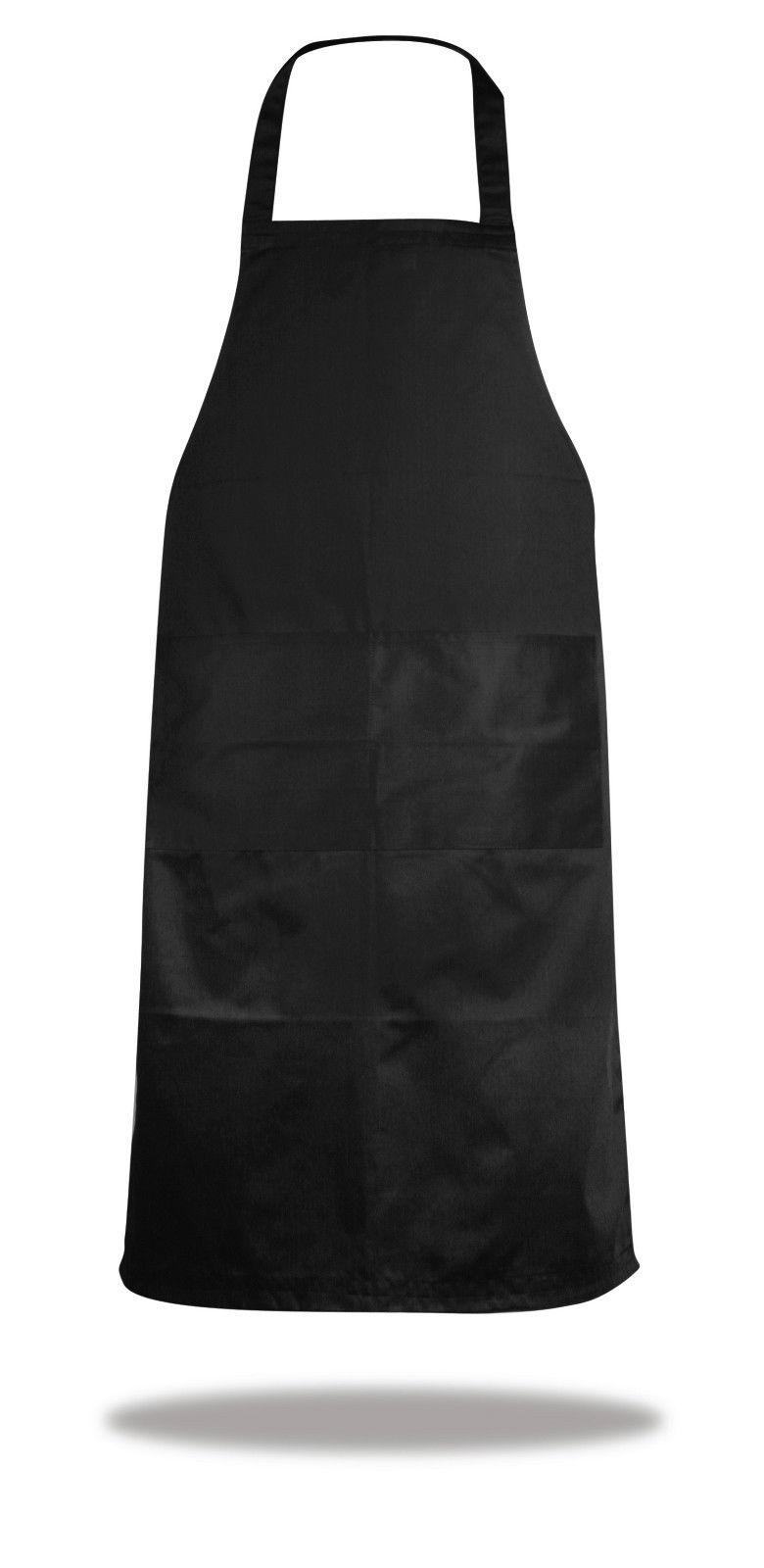 Grembiule classico nero da cucina bar ristorante cucina - Grembiule da cucina ...