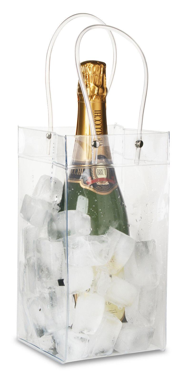 Stock 10 borse porta ghiaccio vino bottiglie porta ghiaccio borsa porta ghiaccio fiori a righe - Porta bottiglie ...