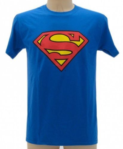 T-SHIRT-MAGLIETTA-SUPERMAN-ORIGINALE-WARNER-BROS-UNISEX-SUPERMAN-291720398299