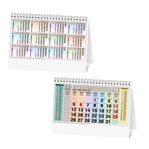stock-200-calendari-da-tavolo-2017-multicolor-con-spirale-19-x-145-cm-291560806369