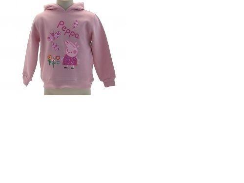 quite nice 0d5c7 1fa01 Stock abbigliamento bambino Peppapig rosa felpa Peppaig rosa bambina moda  2014