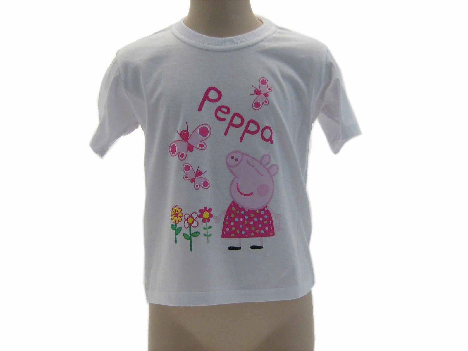 purchase cheap 629f3 58ee0 Peppapig abbigliamento bambini TShirt manica corta maglia di peppapig 2014