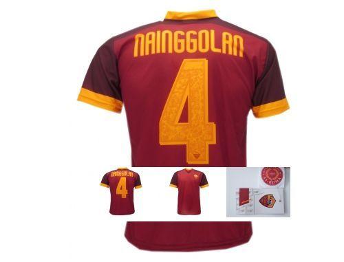 82e4c72ec7 Maglia-CALCIO-UFFICIALE-Nainggolan-MAGLIETTA-ROMA-UFFICIALE-NAINGGOLAM-
